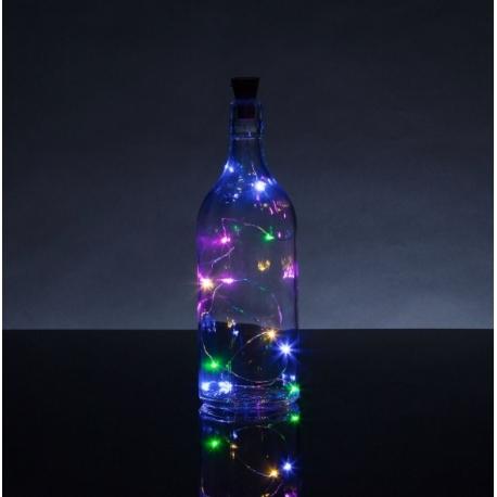 Bottle Top String Lights Multi (HOM2396)