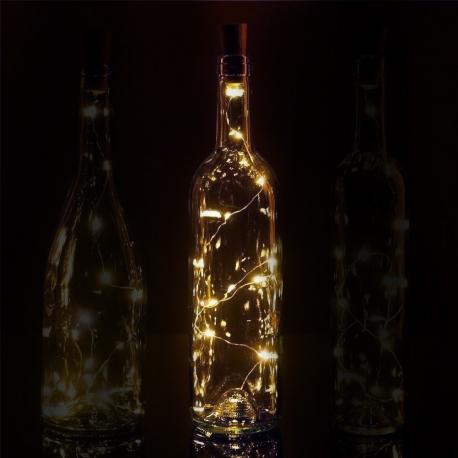 Bottle Top String Lights Soft White