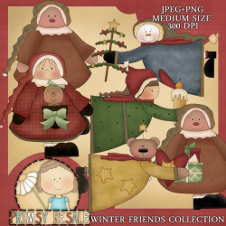 Download - Winter Friends Collection