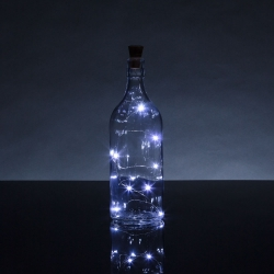 Bottle Top String Lights White (HOM2395)