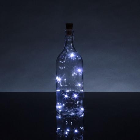 Bottle Top String Lights White (HOM2395)