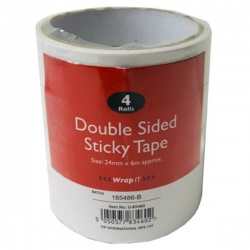 Double Sided Tape - 4 Pack (U-83460)