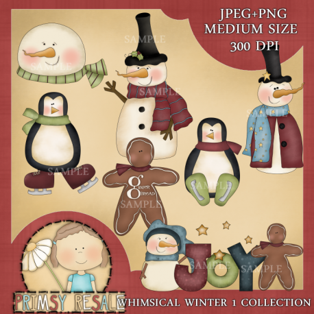 Download - Whimsical Winter Collection 1