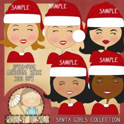 Download - Santa Girls Collection