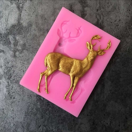 Small Silicone Mould - Reindeer