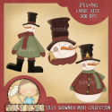 Download - Silly Snowmen Collection
