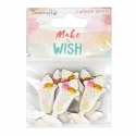 Dovecraft Make A Wish Painted Wooden Toppers - Sundae (DCTOP117)