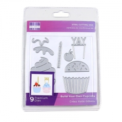 First Edition Die - Build Your Own Cupcake (FEDIE281)