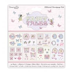"Dovecraft Fairy Tales FSC 8""x8"" Decoupage Pad (DCDPG013)"