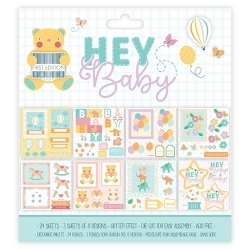 "Dovecraft Hey Baby FSC 8""x8"" Decoupage Pad (FEDPG001)"