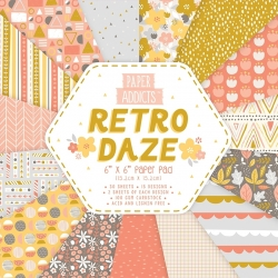 Paper Addicts Retro Daze 6x6 Paper Pad (PAPAD041)