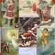 Download - Vintage Christmas Santa and Angel