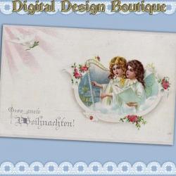 Download - 50 Vintage Christmas Images 1