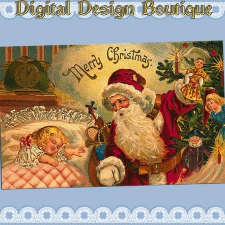 Download - 50 Vintage Christmas Images 2