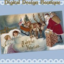 Download - 50 Vintage Christmas Images 3