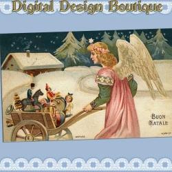 Download - 50 Vintage Christmas Images 4