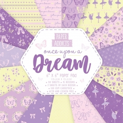 Paper Addicts Once Upon a Dream 6x6 Paper Pad (PAPAD047)