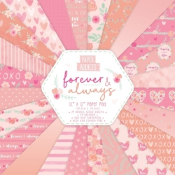 Paper Addicts Forever & Always 12x12 Paper Pad (PAPAD049)