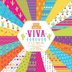 Paper Addicts Viva Forever 12x12 Paper Pad (PAPAD052)