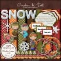 Download - Winter Snow Kids 1 - Digital Scrap Kit