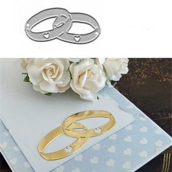 Printable Heaven die - Wedding Rings (1pc)