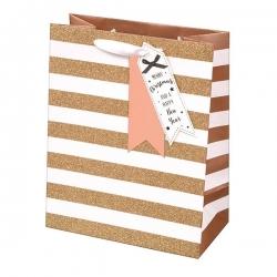 Giftmaker Rose Gold Gift Bag - Large (XAJGB63L)