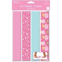 Princess Design 24 Paper Chains (QPAP)