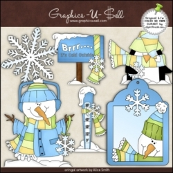 Download - Clip Art - Brrr...It's Cold 1