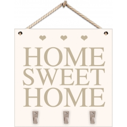 Wooden Home Sweet Home Key Sign (PGQC)