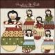 Download - Clip Art - Penguin Mittens