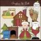 Download - Clip Art - Santa Claus Lane
