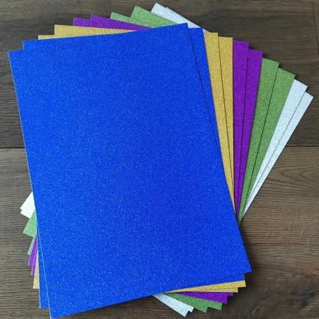 A4 Glitter Card - 10 Pack (STA0274OB)
