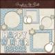 Download - Clip Art - Winter Cookie Frames