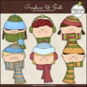 Download - Clip Art - Winter Kids Faces