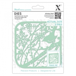 Xcut Dies - Winter Robin 2pcs (XCU 503359)