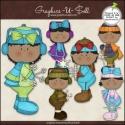 Download - Clip Art - Winter Snow Kids 2