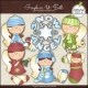 Download - Clip Art - Winter Wishes Angels