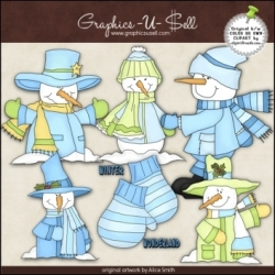 Download - Clip Art - Winter Wonderland 1