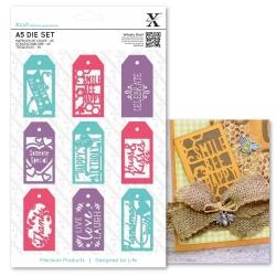 A5 Die Set - Everyday Gift Tag Set 9pcs (XCU 503287)