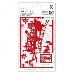 Xcut Large Dies - Festive Delivery 2pcs (XCU 503963)
