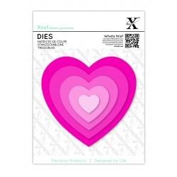 Xcut Dies - Nesting Hearts 5pcs (XCU 503412)