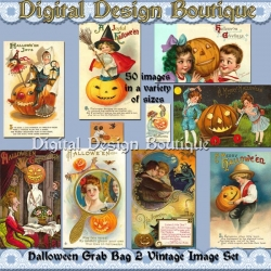 Download - 50 Vintage Halloween Images 2