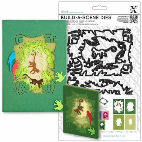 Shadow Box Die (7pcs) - Jungle (XCU 503279)