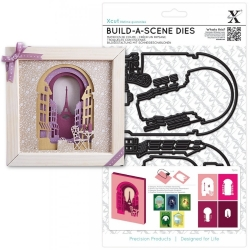 Shadow Box Dies - Parisian Street 7pcs (XCU 503278)