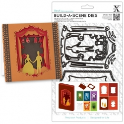 A5 Shadow Box Dies (6pcs) - Theatre (XCU 503123)