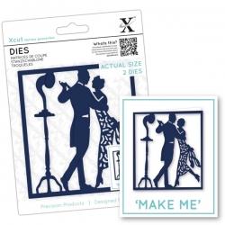 Xcut Dies - 1920s Dancers 2pcs (XCU 503094)
