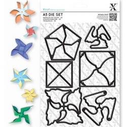 A5 Die (6pcs) - Mini Pinwheels (XCU 503232)