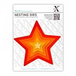 Xcut Dies - Nesting Stars 5pcs (XCU 503400)
