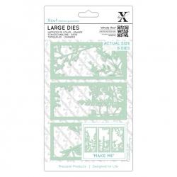 Xcut Large Dies - Floral Panels 6pcs (XCU 503097)
