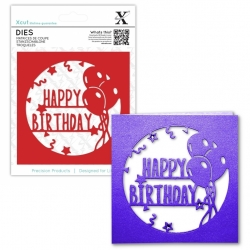 Xcut Dies - Happy Birthday Topper 1pc (XCU 503295)